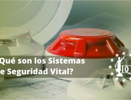 ¿Qué son los Sistemas de Seguridad Vital?   Master Ingeniería del Fuego